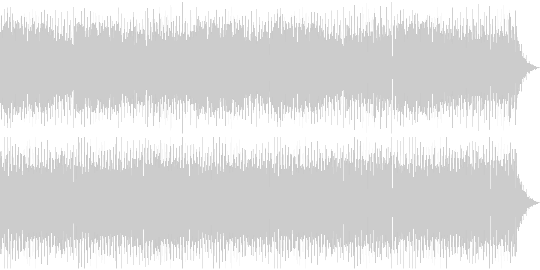 ノスタルジックなケルト音楽の未再生の波形