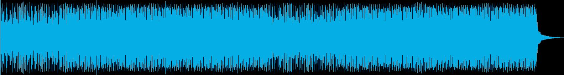 企業向け 軽快なテクノ 別verの再生済みの波形