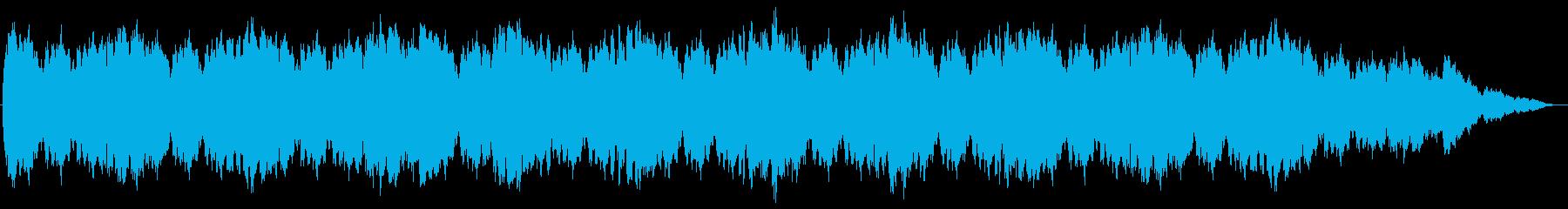 スロウテンポ、苦悩を描いたピアノ曲の再生済みの波形