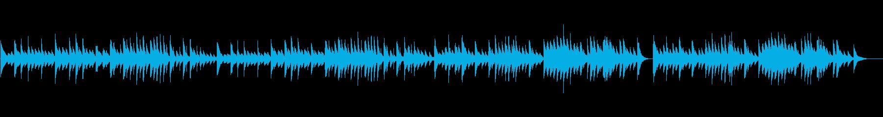 チェルニーNo.66、穏やかなピアノの再生済みの波形