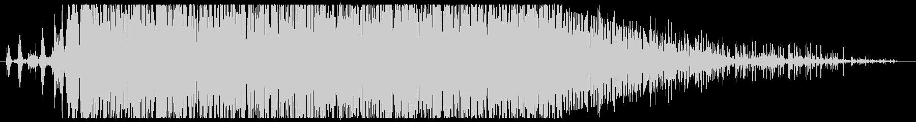 石 ドロップダウンラージロング01の未再生の波形