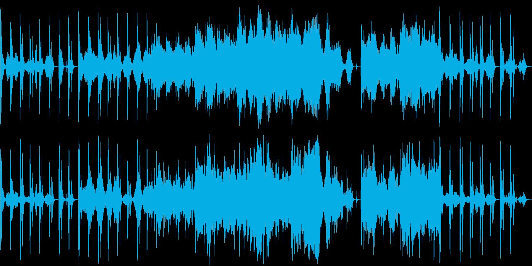 木管のメロディーとピアノのしっとり音楽の再生済みの波形