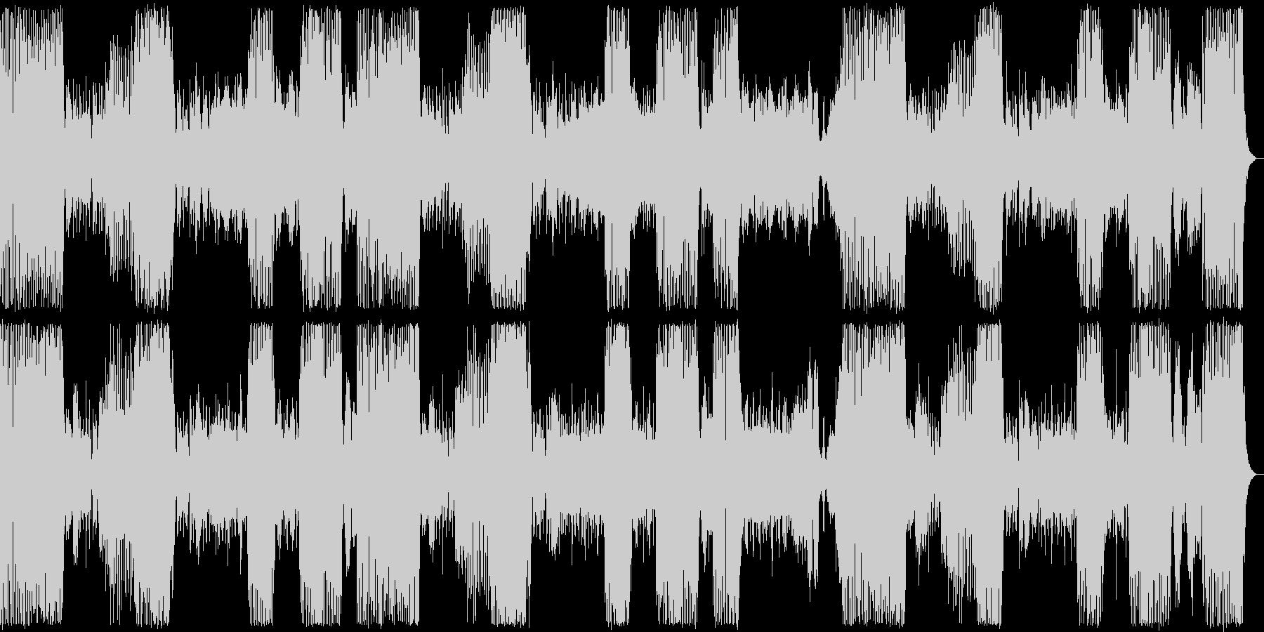 アイネ・クライネ・ナハトムジーク+リズムの未再生の波形