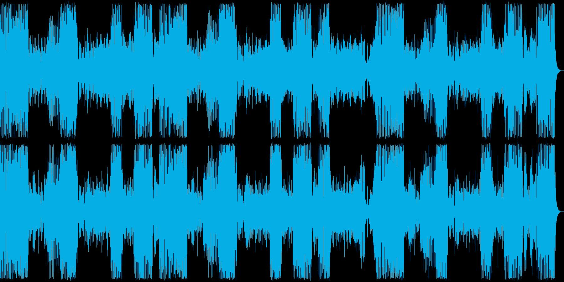 アイネ・クライネ・ナハトムジーク+リズムの再生済みの波形