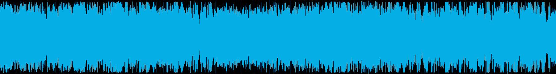 ループ・女性ボーカル・優しいウクレレの再生済みの波形