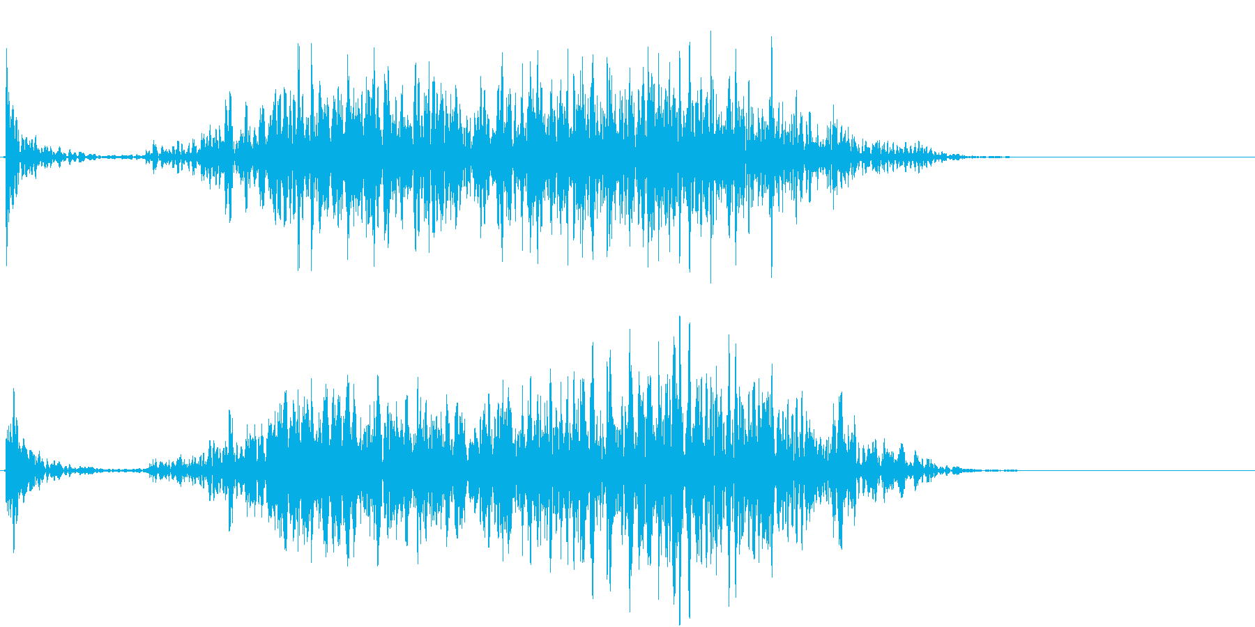【生録音】ペンで書く音 机 5の再生済みの波形