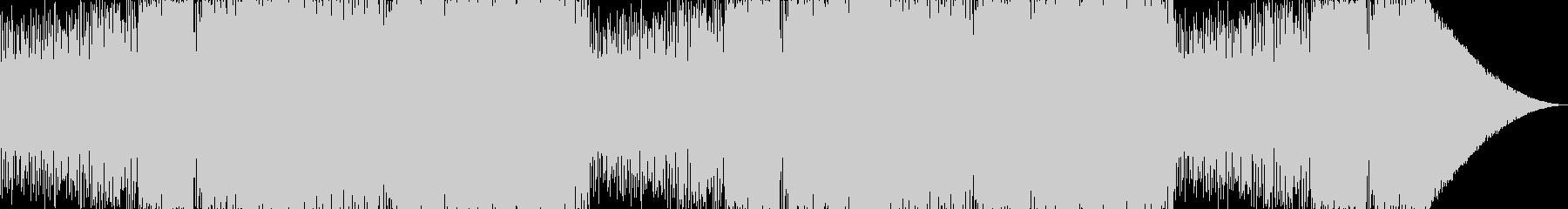 サイドチェイン風のビリビリベーストランスの未再生の波形