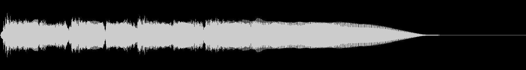 Guitarジングル5/チャイナ!!の未再生の波形