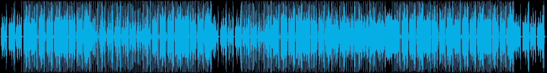 キャッチーな90年代風R&Bの再生済みの波形