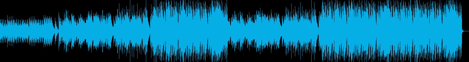 感動系しっとりした冬のラブバラードBGMの再生済みの波形