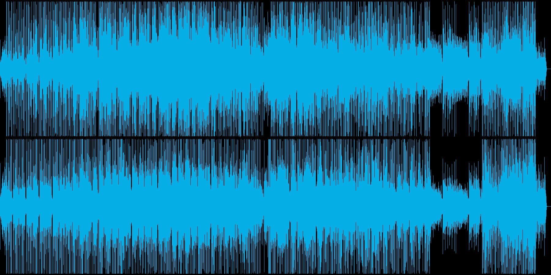 Grasshoppersの再生済みの波形