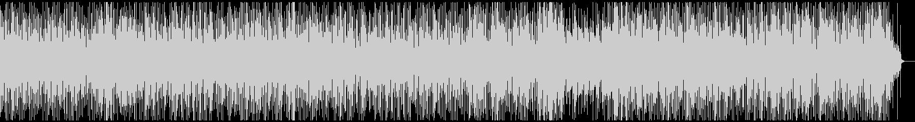ほのぼのとしたレゲエ調のギターインストの未再生の波形
