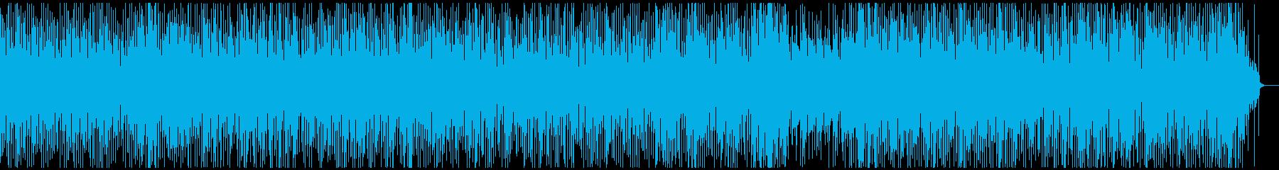 ほのぼのとしたレゲエ調のギターインストの再生済みの波形
