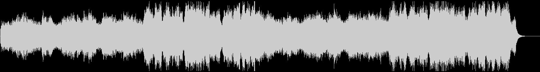 定番Xmasキャロルのコーラスアレンジの未再生の波形