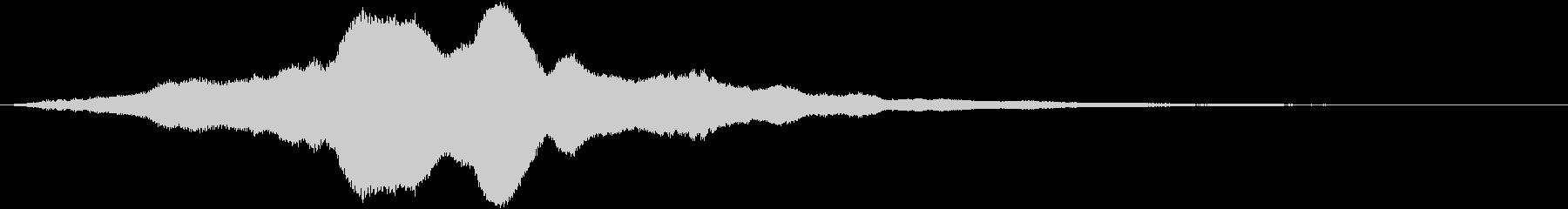 暗めのアンビエントBGM_シリアスの未再生の波形
