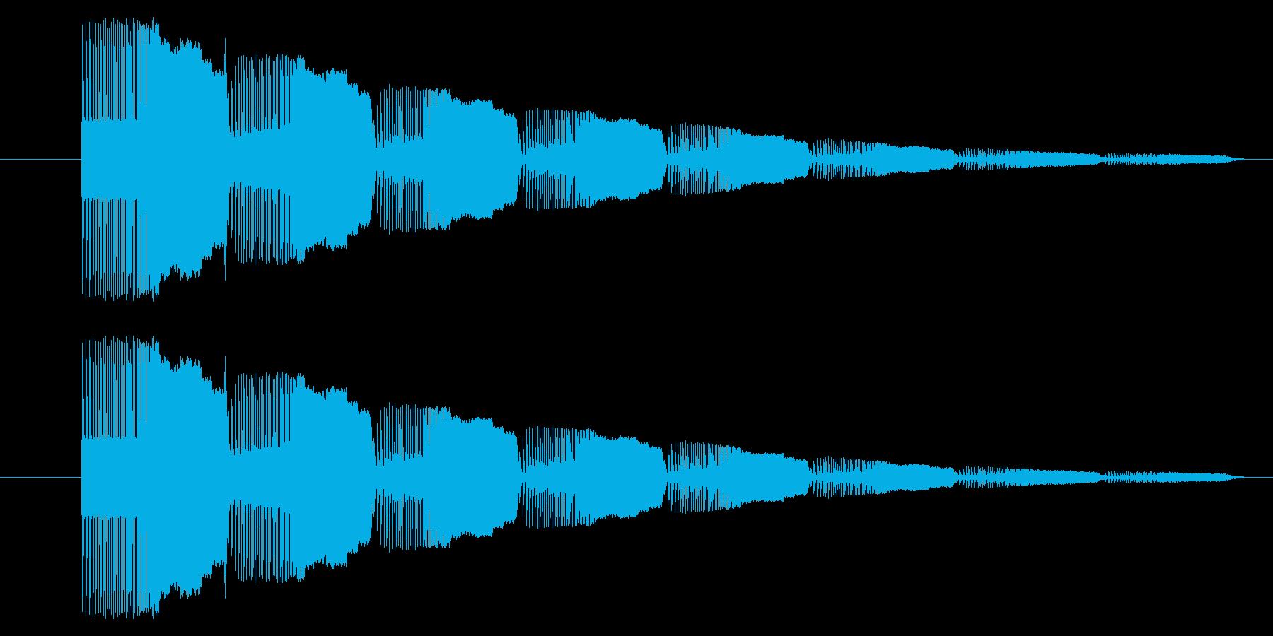 GB シューティング01-09(アイテムの再生済みの波形