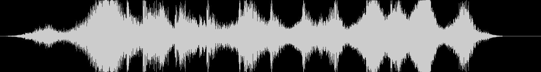 世紀末に合うホラージングルの未再生の波形