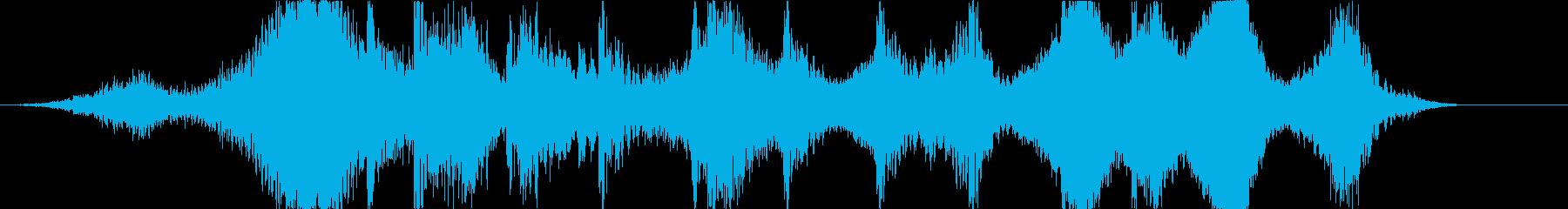 世紀末に合うホラージングルの再生済みの波形