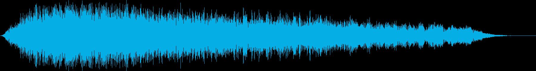 合唱団の掃除の再生済みの波形