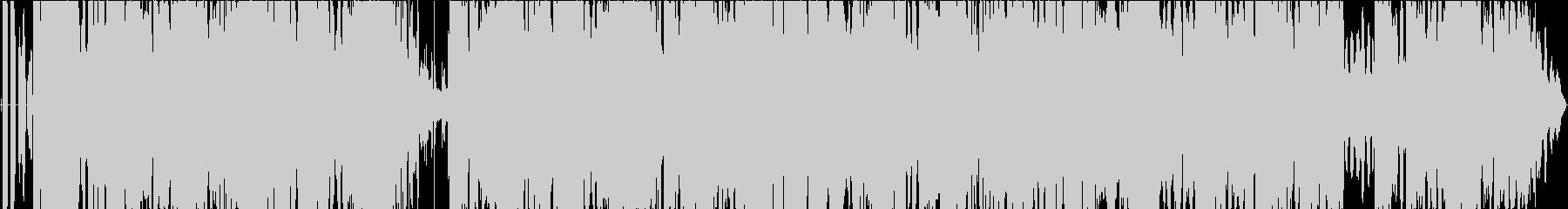 ゆったりしたピアノが特徴的なバラードの未再生の波形