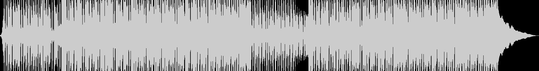 幸せな陽気な楽しいロックの未再生の波形