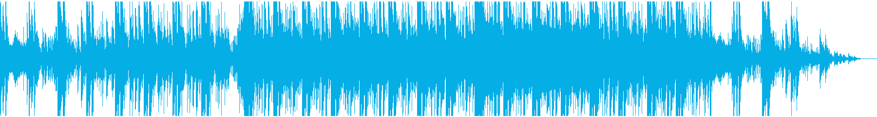 和風 決闘に合うBGMの再生済みの波形