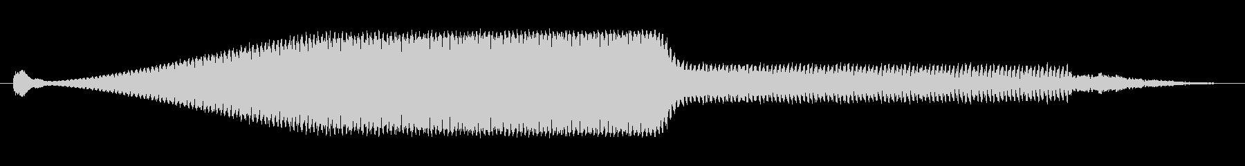 ノイズ スプラッターノイズロング03の未再生の波形