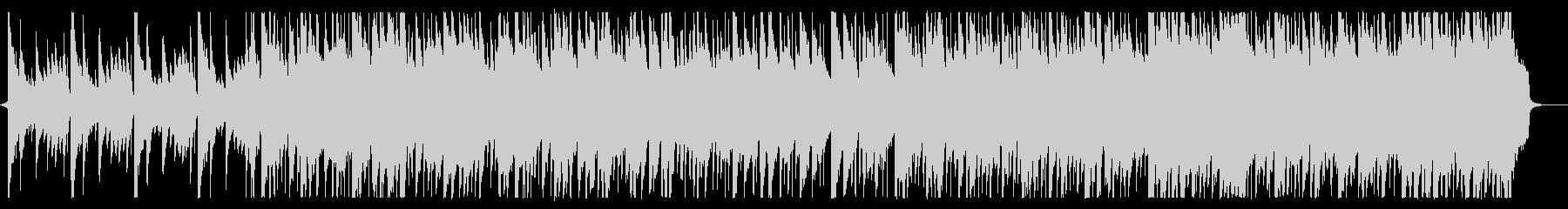 爽やかなピアノ主体のオープニング曲の未再生の波形