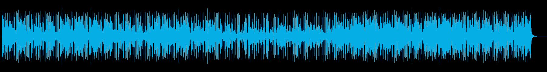 可憐で軽やかなシンセドラムポップスの再生済みの波形