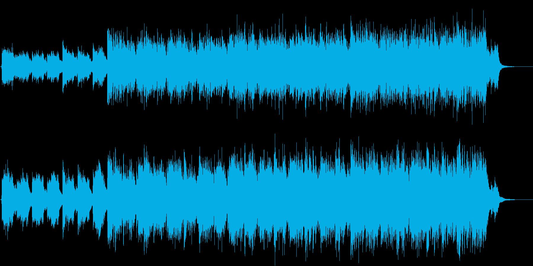 何かが起こる予兆 ギターとピアノの緊張感の再生済みの波形