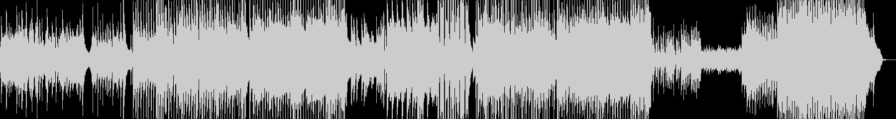 後半劇的・J-Pop風バラード 長尺+★の未再生の波形