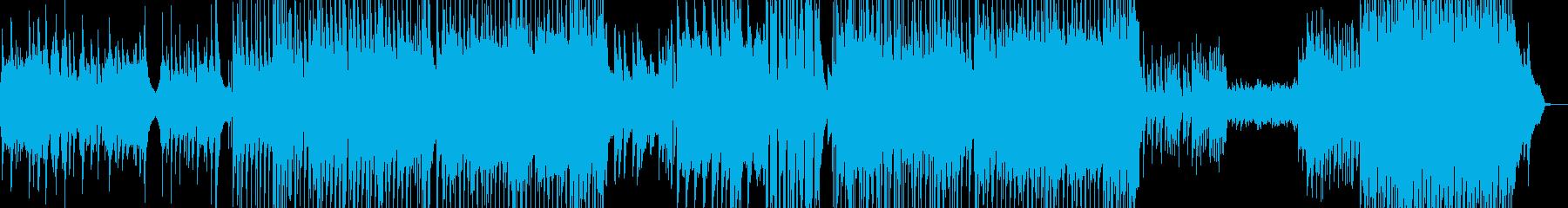 後半劇的・J-Pop風バラード 長尺+★の再生済みの波形