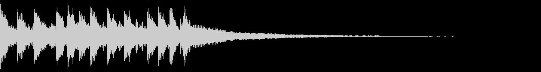 キャッチーEDM・ADMジングルの未再生の波形