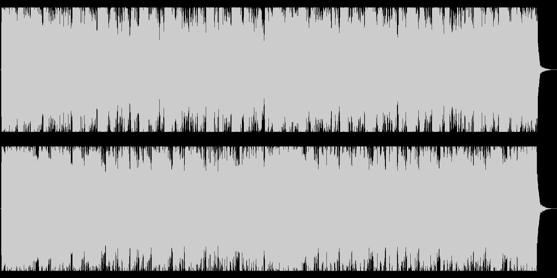疾走感/ロック/エレクトロNo398_4の未再生の波形