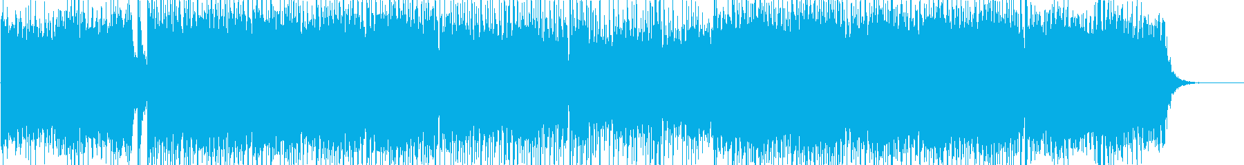 Eurobeat like car chase anime's reproduced waveform