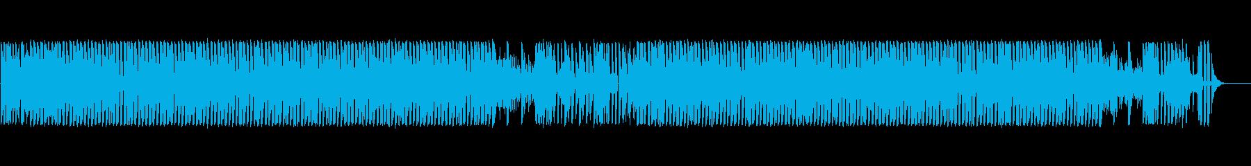 あたふた・パニック表現に最適なポップスの再生済みの波形