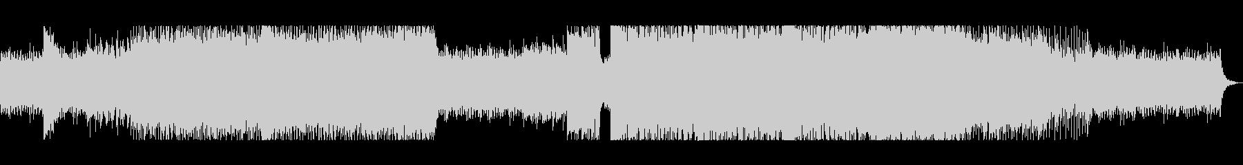 コーラス(クワイア)なしの未再生の波形