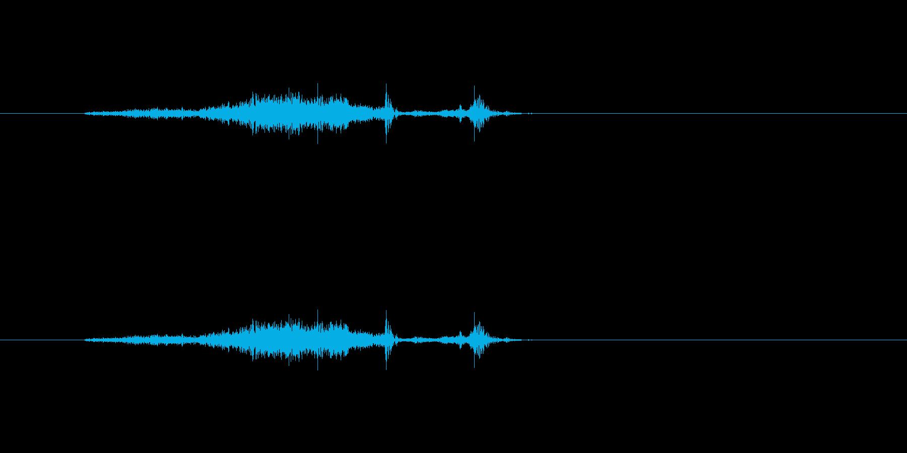 【本03-1(めくる)】の再生済みの波形