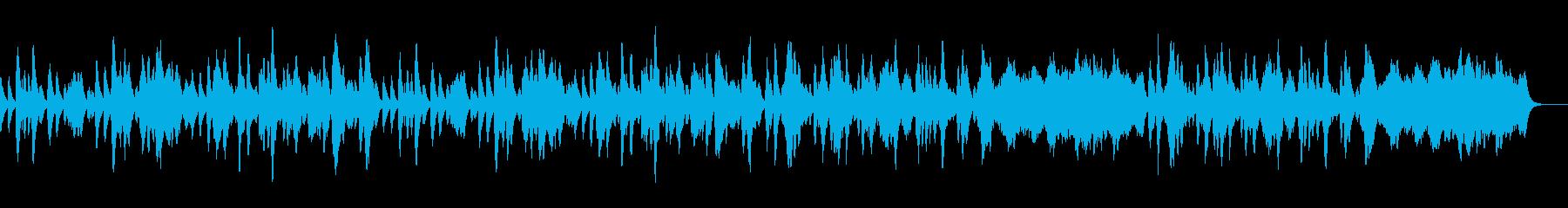 ゴルトベルク変奏曲のオルゴールFullの再生済みの波形