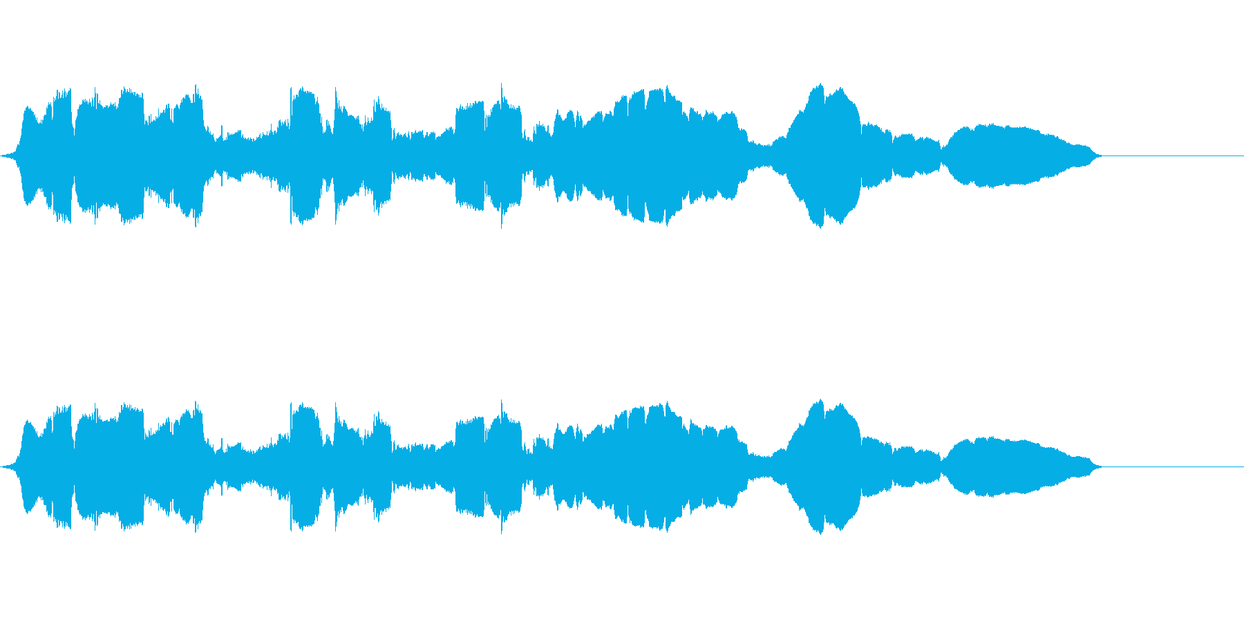 フルート:スニーキーウォーブルズア...の再生済みの波形