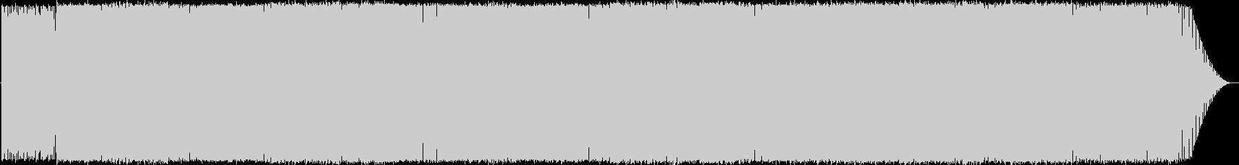 シンプルなトランス系インスト曲ですの未再生の波形