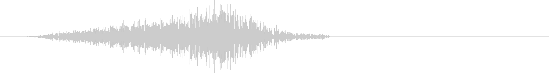 「シュ」紙・本のページをめくる音(中速)の未再生の波形