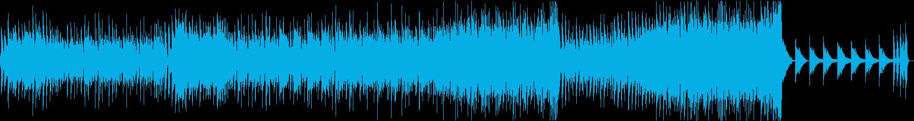 アコギとピアノとパーカションで広がる音像の再生済みの波形