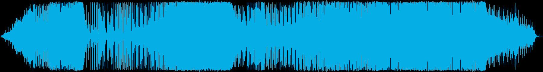 壮大な海中を感じるアップテンポダンスポッの再生済みの波形