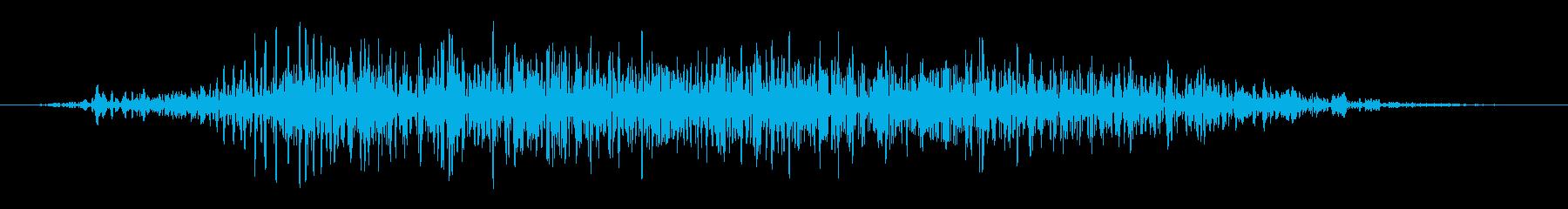 フライング ドラゴン ダメージ 中の再生済みの波形