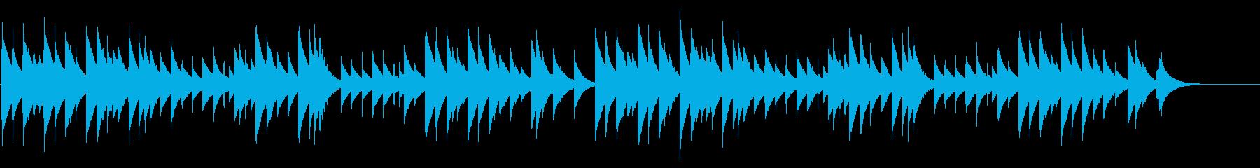 さくら さくら カード式オルゴールの再生済みの波形