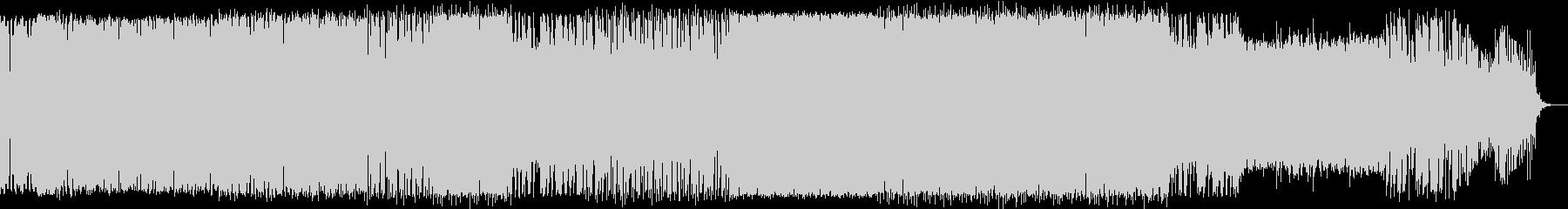 シンセソロ入りの深海イメージ曲の未再生の波形