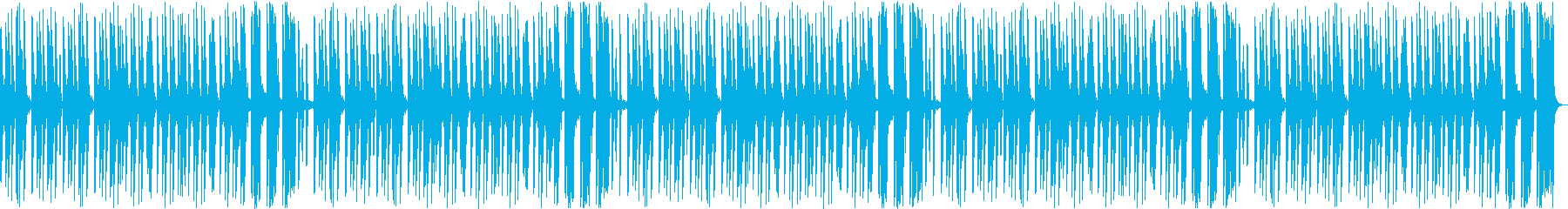ほのぼのしたマリンバが印象的なBGMの再生済みの波形