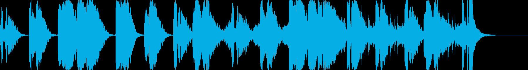 昭和のスポ根・軍歌風BGM 辛い練習・涙の再生済みの波形