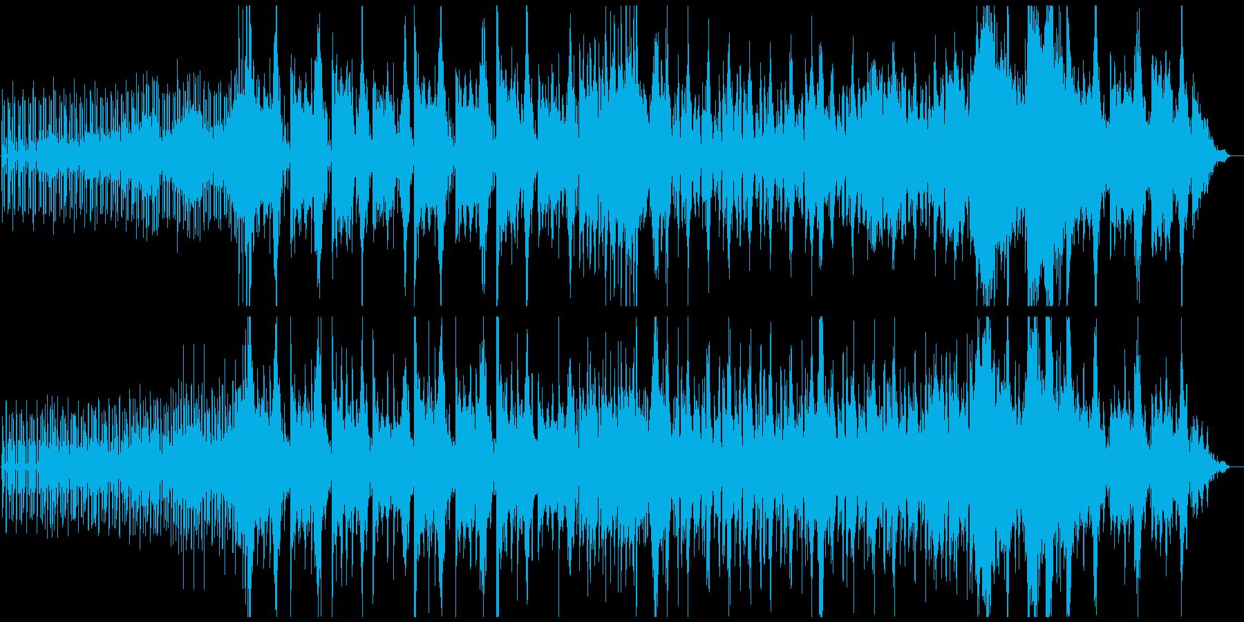 ゲーム的オーケストラ 敵襲、背水の陣の再生済みの波形